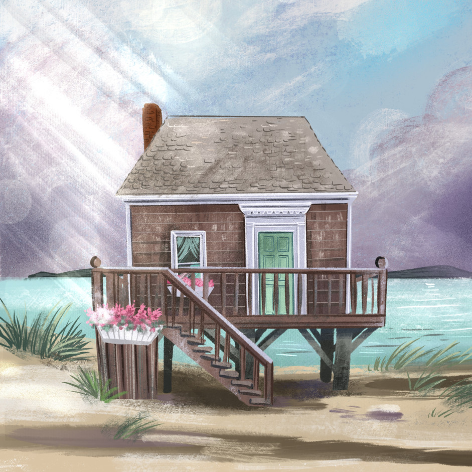 Cape Cod Stilt House