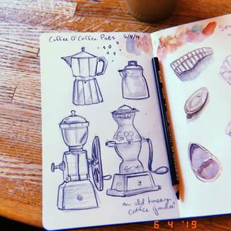 Coffee Pots @ Coffee O'