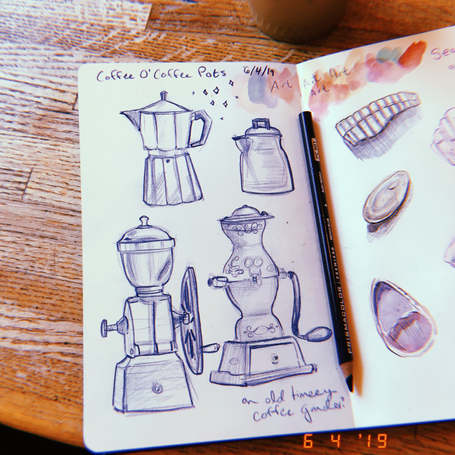 Coffee Shop Sketches