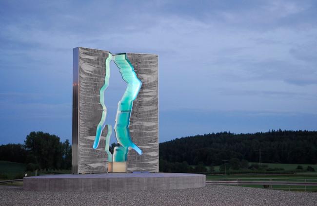 Das Tor zum Bodensee, Ansicht Nord, Blumhofkreisel B 31