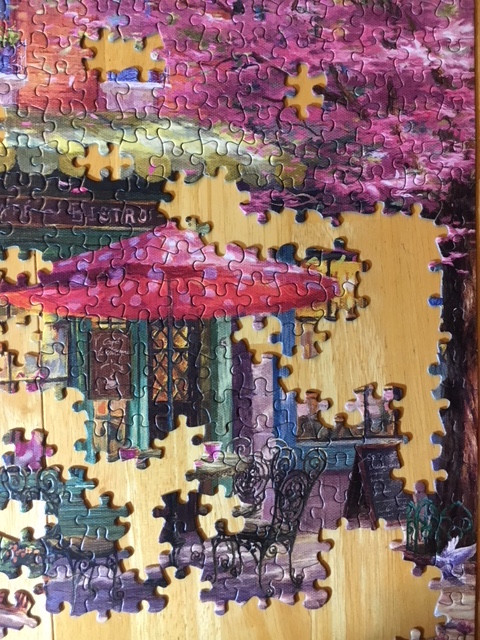 The Puzzle Process