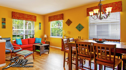 Parrish Home Living Space - Real Estate Photography - Bradenton & Sarasota, Florida - 360 Real Estate Services, LLC