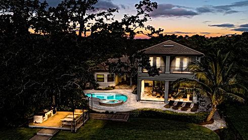 360 Real Estate Services, LLC - Illustration, Twilight,  & HDR Photography Services - Sarasota & Bradenton, Florida - After Sample of Residential Home Backyard