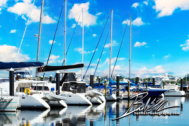 Aerial Downtown Pier 22 - Real Estate Photography - Bradenton & Sarasota, Florida - 360 Real Estate Services, LLC