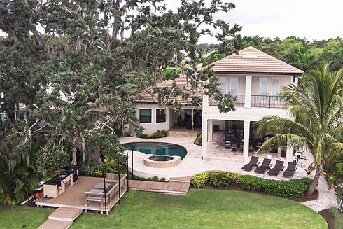 Residential Backyard Before Illustration - Real Estate Photography - Bradenton & Sarasota, Florida - 360 Real Estate Services, LLC