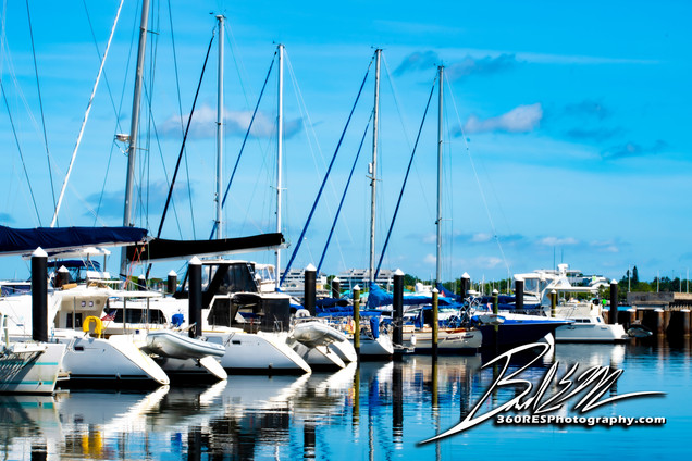 Pier 22 Marina Yahts - Downtown Bradento, Florida - 360 Real Estate Services, LLC - Photography