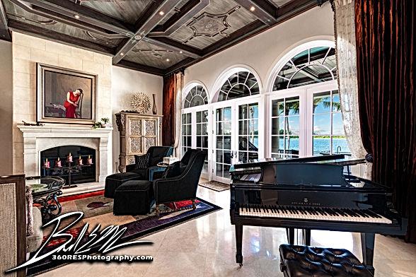 Living Space - Sarasota, Florida - 360 Real Estate Services, LLC - Photography