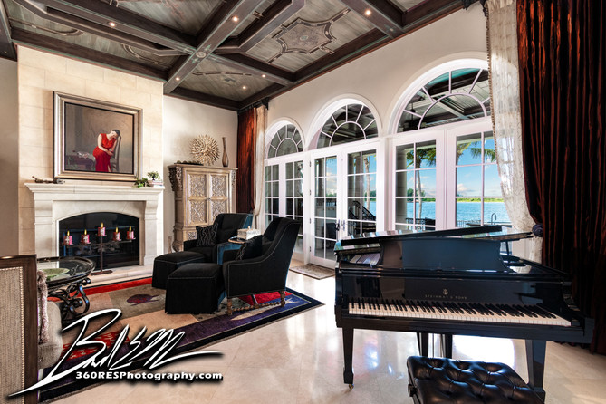 Living Space - Sarasota, Florida - 360 Real Estate Services, LLC - Photography