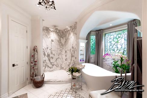 Siesta Key Luxury Bathroom - Real Estate Photography - Bradenton & Sarasota, Florida - 360 Real Estate Services, LLC