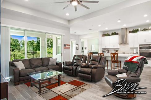 Parish Living Space - Real Estate Photography - Bradenton & Sarasota, Florida - 360 Real Estate Services, LLC
