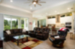 Ellenton Florida Home Living Room - 360 Real Estate Services, LLC - Interior Photography