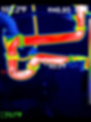 Thermal Image Example Plumbing - 360 Real Estate Services, LLC - Sarasota & Bradenton, Florida
