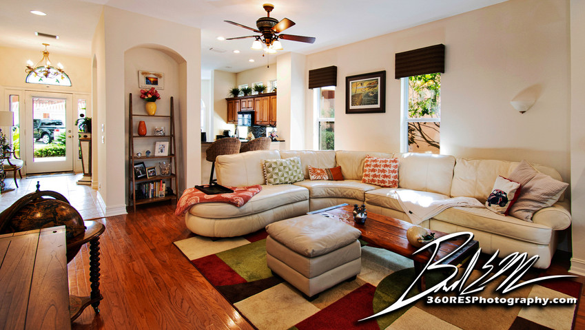 Living Space - Palmetto, Florida - 360 Real Estate Services, LLC - Photography