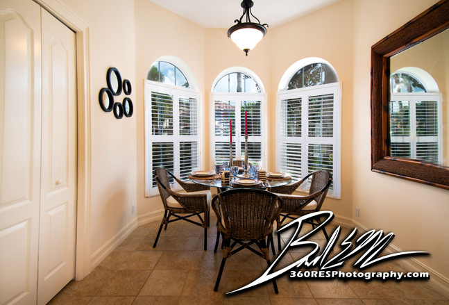 Breakfast Nook - Palmetto, Florida - 360 Real Estate Services, LLC - Photography