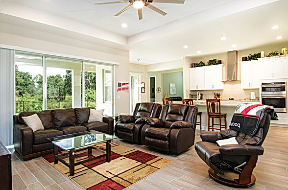 360 Real Estate Services, LLC -- Parrish,  Florida - Living Space - HDR Photography