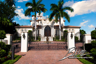 Gated Entrance - Sarasota, Florida - 360 Real Estate Services, LLC - Photography