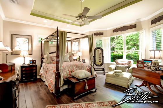 Lakewood Ranch Master Bedroom - Real Estate Photography - Bradenton & Sarasota, Florida - 360 Real Estate Services, LLC