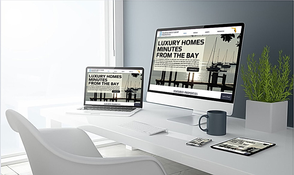 Portfolio & Realty Website Design Services -   360 Real Estate Services, LLC - Sarasota & Bradenton, Florida - Cover Page