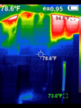 Thermal Image Example 1 - 360 Real Estate Services, LLC - Sarasota & Bradenton, Florida