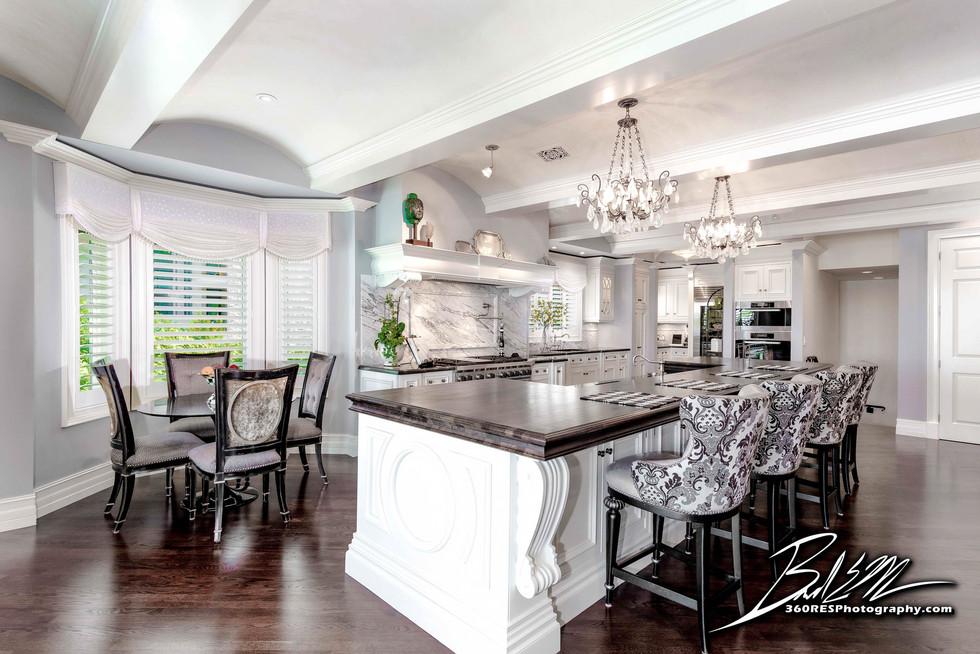 Luxury Home Kitchen - Real Estate Photography - Bradenton & Sarasota, Florida - 360 Real Estate Services, LLC