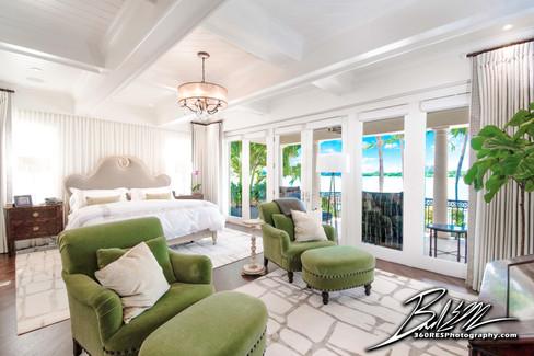 Siesta Key Luxury Home Bedroom - Real Estate Photography - Bradenton & Sarasota, Florida - 360 Real Estate Services, LLC