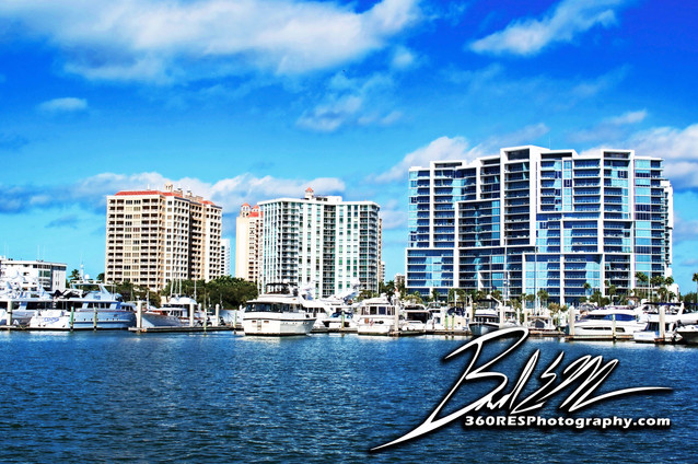 Bayfront Marina - Sarasota Florida - 360 Real Estate Services, LLC - Photography