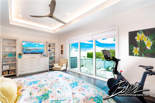 Longboat Key Bedroom View - Real Estate Photography - Bradenton & Sarasota, Florida - 360 Real Estate Services, LLC