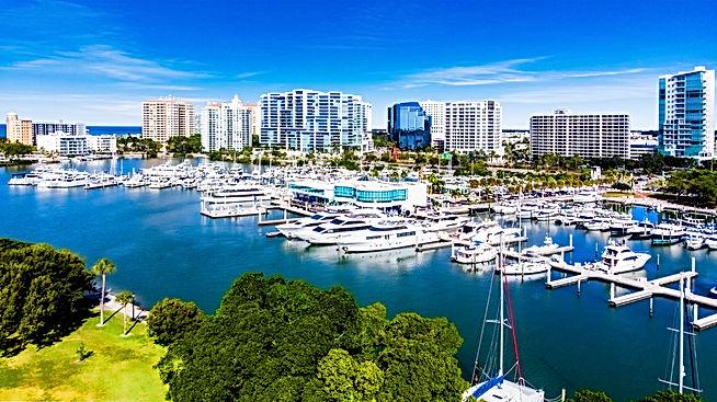 360 Real Estate Services - Bradenton & Sarasota, Florida - Bayfront Marina - Aerial / Drone Photography