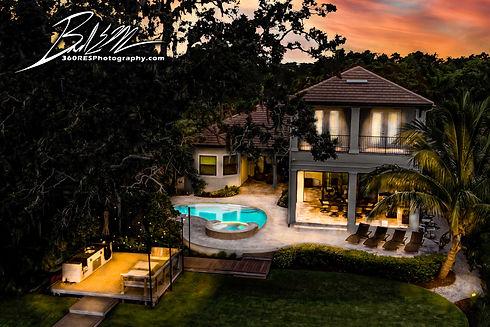 Residential Backyard After Illustration - Real Estate Photography - Bradenton & Sarasota, Florida - 360 Real Estate Services, LLC