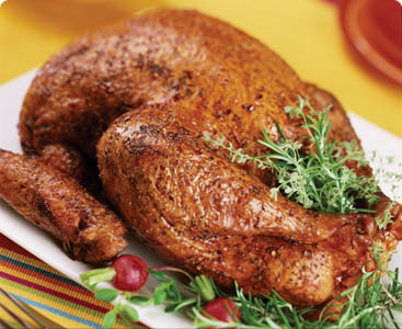 Herb-Rubbed Deep-Fried Turkey