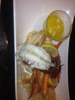 Lobster & Crab with Champagn Butter