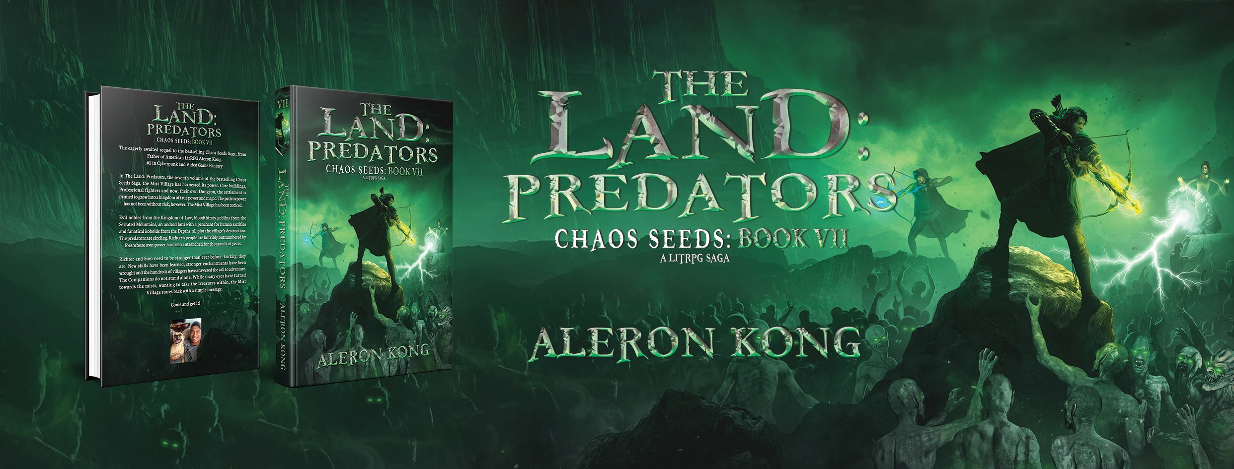Author Interview - Aleron Kong | gamingmommies