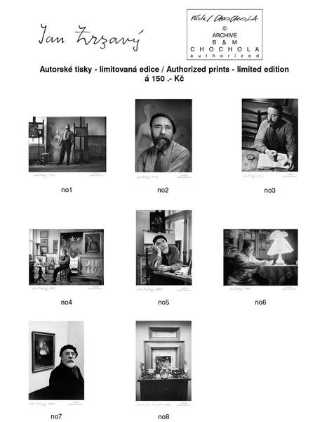 Autorizované tisky A4 - Jan Zrzavý