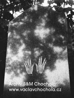 Ze Židovského hřbitova,1959