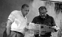 32 Jiří Trnka a Jan Werich, 1963