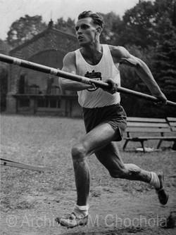 Atletika Skok Vysoký,  František Fiedler 1942