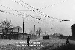 Ráno, Libeň, 1955