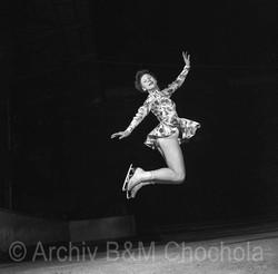 Milena Kladrubská, Mistrovství v krasobruslení,1954
