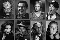 Divadlo - herci 40. léta