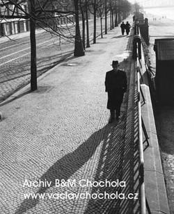 Nábřeží, Praha, 1943