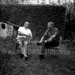 38 Jiří Trnka a Jan Werich, 1963