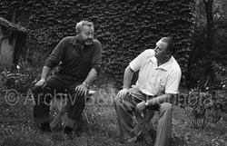35 Jiří Trnka a Jan Werich, 1963