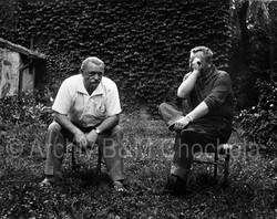 34 Jiří Trnka a Jan Werich, 1963