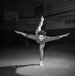 Gymnastika, Eva Bosáková, 1954