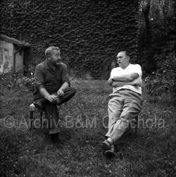 41 Jiří Trnka a Jan Werich, 1963