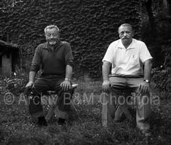 33 Jiří Trnka a Jan Werich, 1963