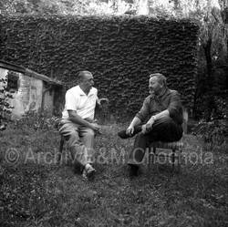 39 Jiří Trnka a Jan Werich, 1963