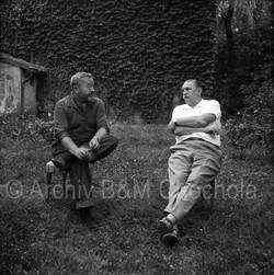 40 Jiří Trnka a Jan Werich, 1963