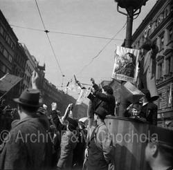 Příkopy, Praha 9. 5. 1945