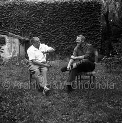 37 Jiří Trnka a Jan Werich, 1963
